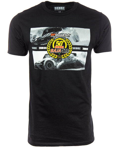 50th BAJA 500 'ALL OUT ACTION' TEE