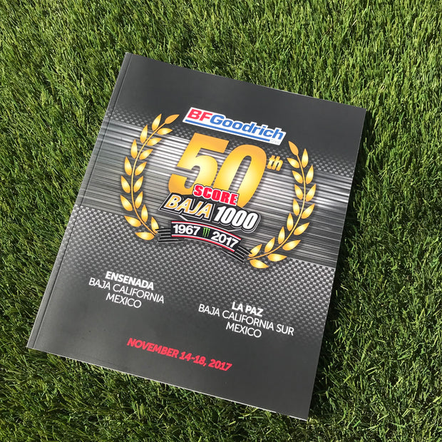 Official Program of 50th Baja 1000