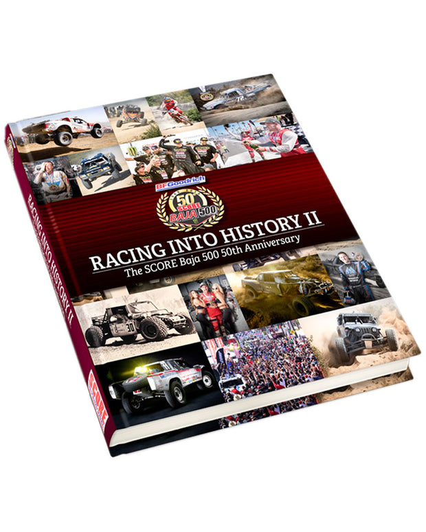 Baja 500 50th Anniversary Book or get the set! (Baja 1000 & 500 Books)