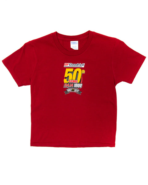 50th Baja 1000 Youth Event Tee