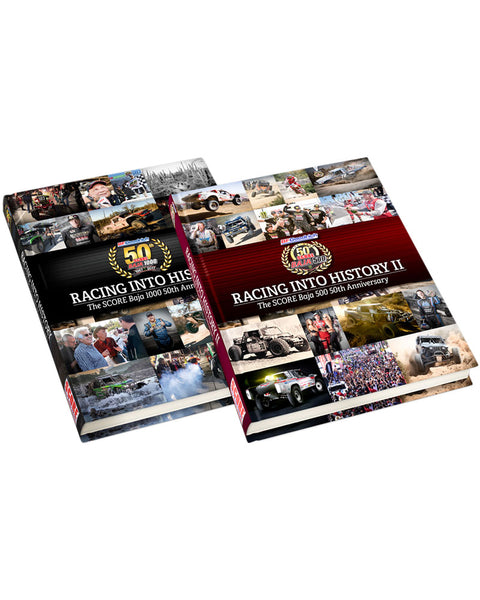 Baja 500 50th Anniversary Book & The Set (Baja 1000 & 500 Books)