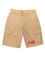 Red Cap Cargo Short w/ SCORE logo embroidery