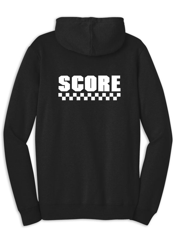 SCORE Checkered Flag Hoodie - Men