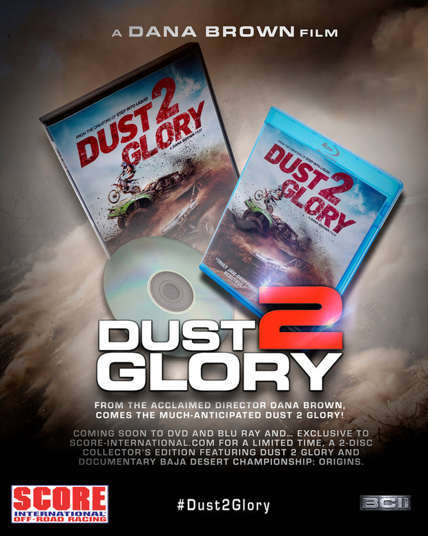 Dust 2 Glory DVD