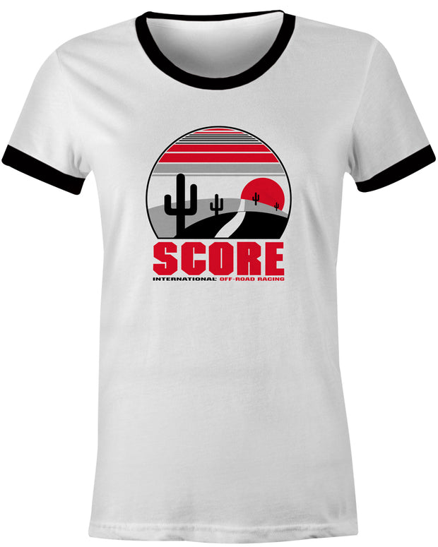 Ladies Baja Ringer Tee
