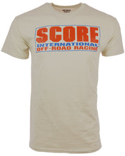 SCORE Logo Short Sleeve Tee - Tan