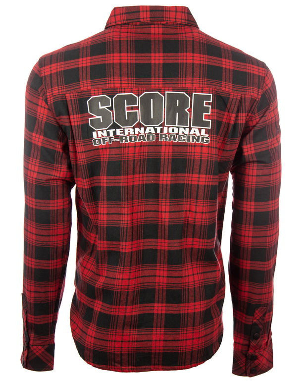 SCORE Flannel Shirt - Mens Collection
