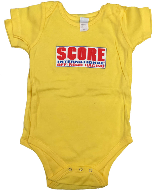 Infant 54oz-100% Cotton Onesie with SCORE logo