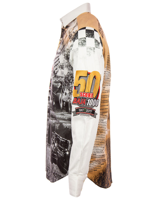 Robert Graham 50th Baja 1000 Shirt
