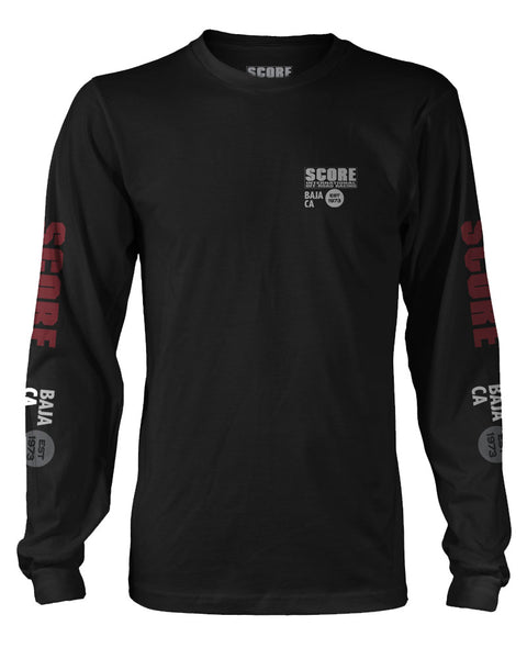 SCORE Long Sleeve Tee