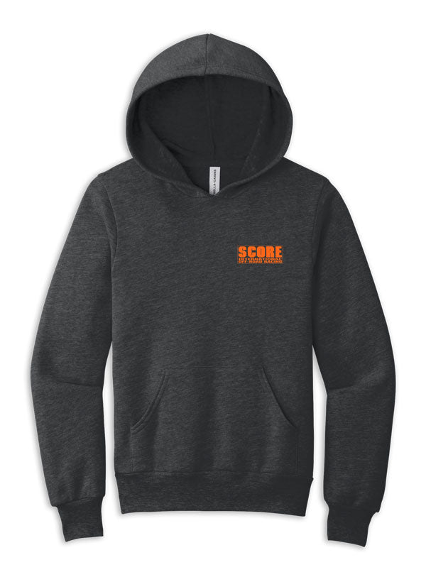 SCORE Racer Orange Logo Hoodie - Youth