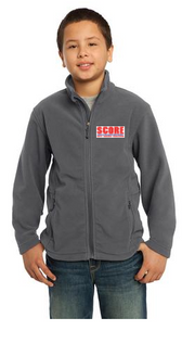 SCORE Embroidered Youth Fleece Jacket