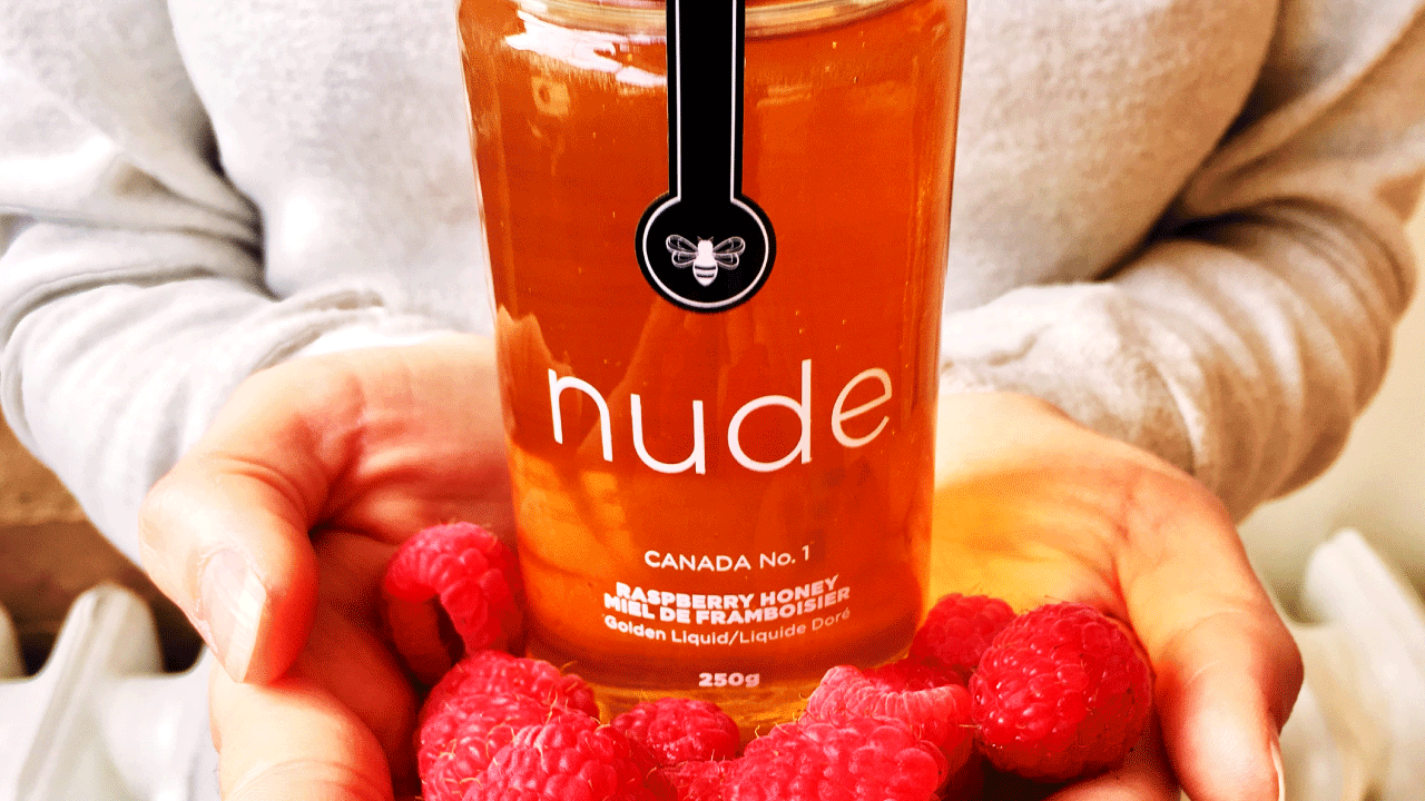 Nude Bee Raspberry Honey