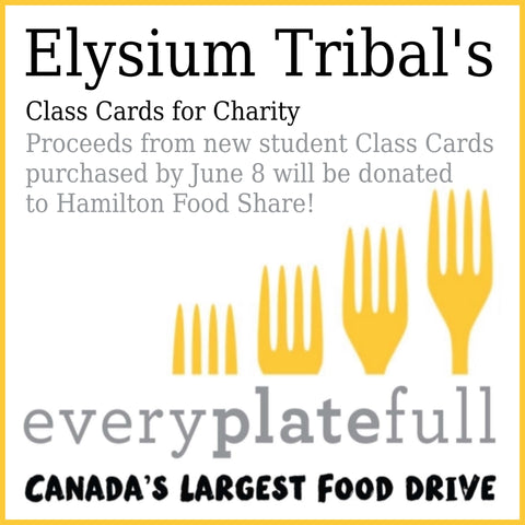 proceeds from class cards to be donated to every plate full campaign