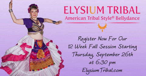 American Tribal Style bellydance classes at Elysium Tribal