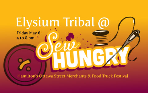 Elysium Tribal Bellydance Studio performs at Hamilton Sew Hungry 2016