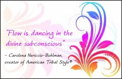 Dancing in the Flow® at Hamilton's Elysium Tribal Bellydance Studio