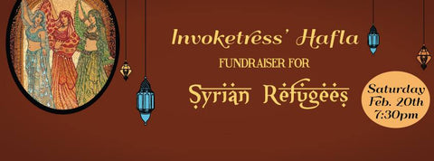Invoketress Hafla to benefit Syrian Refuges
