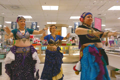 Elysium Tribal Bellydance Studio performance at Lime Ridge Mall Hamilton