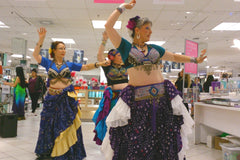 Elysium Tribal performs at Lime Ridge Mall Hamilton