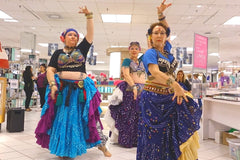 Elysium Tribal Bellydance Studio performs at Lime Ridge Mall in Hamilton