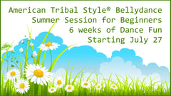 American Tribal Style Bellydance Classes in Hamilton, Burlington, Oakville