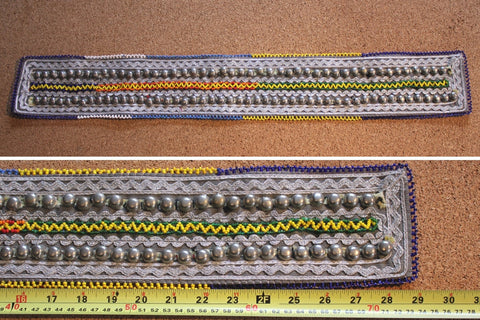 "29"" Belt Base With Double Row Turkoman Buttons"
