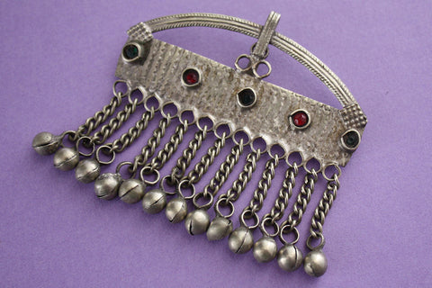 Arched Tribal Pendant with Bells