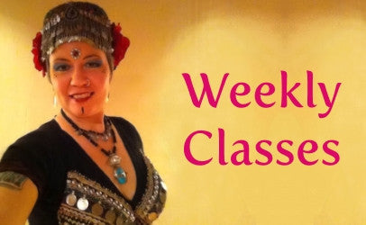 Weekly ATS® belly dance classes in Hamilton Ontario