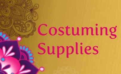 Tribal bellydance costume supplies: kuchi jewelry and hip belts with beaded medallions and tassels