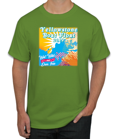 Boat Float 2019 T-Shirt