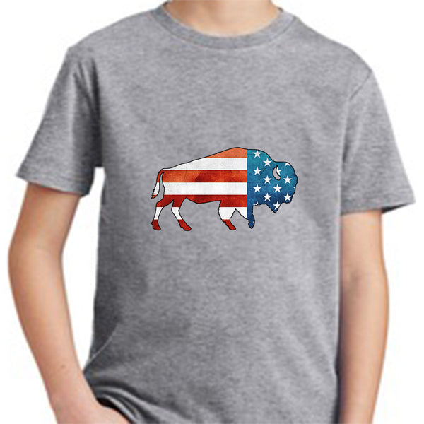USA Bison T-Shirt