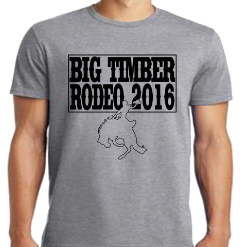 Big Timber Rodeo 2016 T-Shirt
