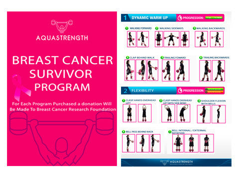 Aquastrength Breast Cancer Survivor Bundle