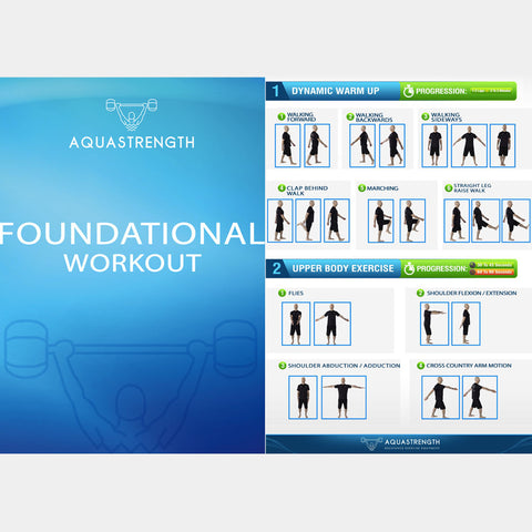 Aquastrength Foundational Workout Printout