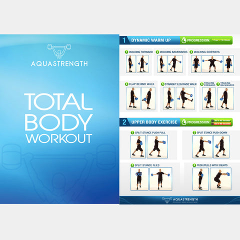 Aquastrength Total Body Workout Printout