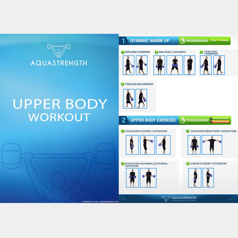 Aquastrength Upper Body Workout Printout