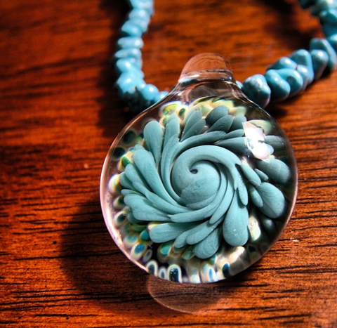 Goldman Glass pendant