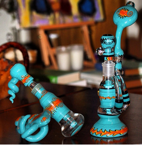 Goldman Glass custom bubblers