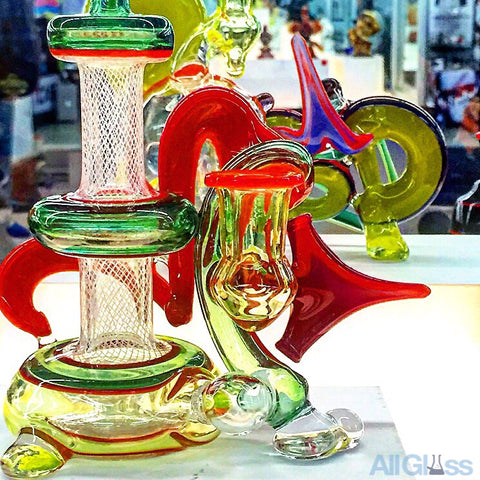Dave Colton Glass Graffiti Series