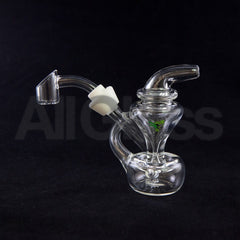MJ Arsenal Merlin at AllGlass - Cone and Blunt Recycler and Travel Oil Rig Klein
