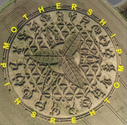 Mothership Crop Circle Symbols Meaning