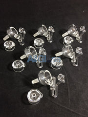 East 8th Glass Quartz Honey Buckets and Caps - 10mm Male