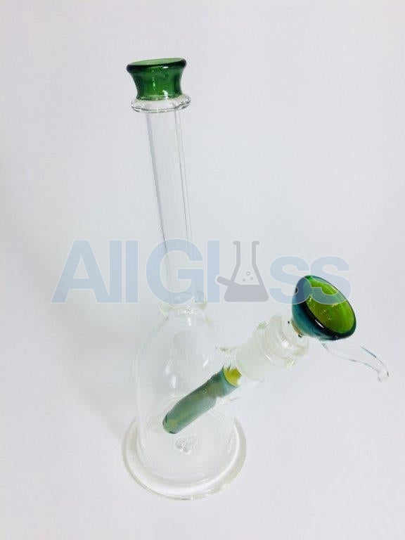 East 8th Glass Scientific Layback Tube (Removable Colored Diffuser Downstem + Slide)