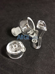 East 8th Glass Quartz Honey Bucket and Cap - 14mm Female