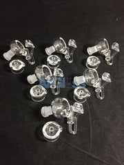 14mm Female East 8th Glass Quartz Honey Bucket and Cap -  AllGlass