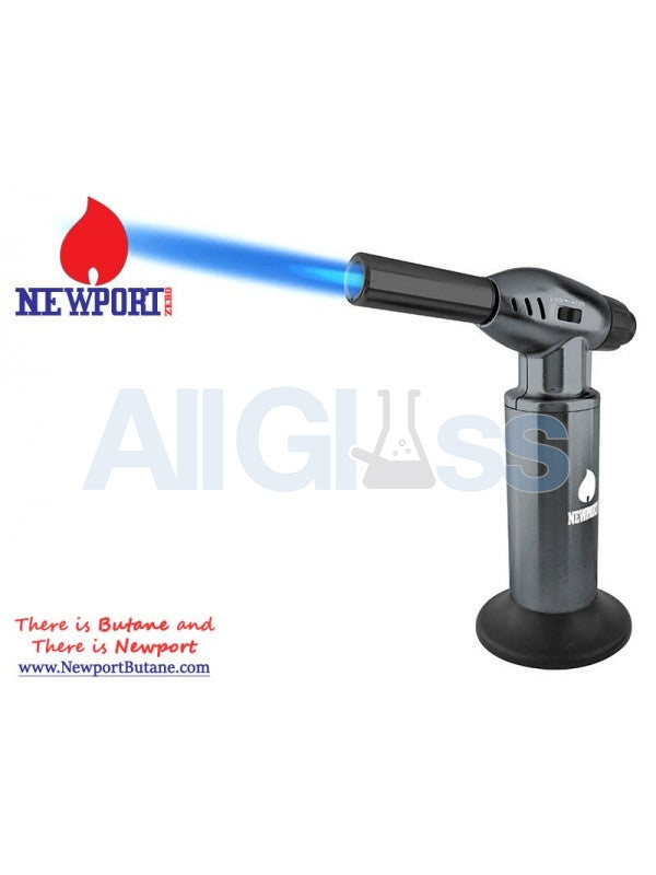 "Newport Zero 10"" Jumbo Torch - Gray , Smoking Accessory - Newport Butane, AllGlass.com  - 1"