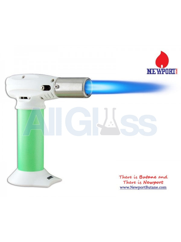 "Newport Zero 5"" Junior Turbo Torch - Green , Smoking Accessory - Newport Butane, AllGlass.com  - 1"