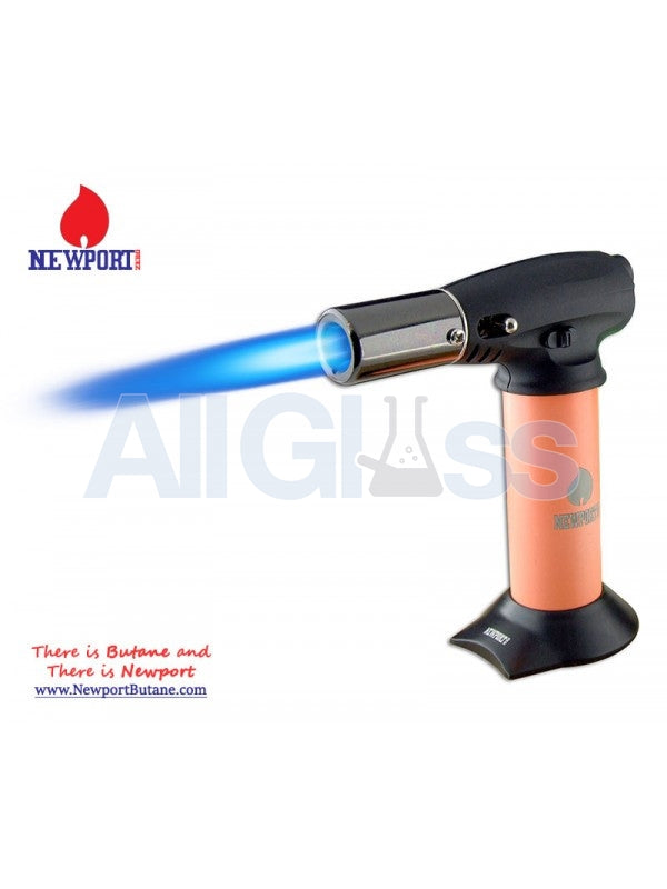 "Newport Zero 5"" Junior Turbo Torch - Orange , Smoking Accessory - Newport Butane, AllGlass.com  - 1"