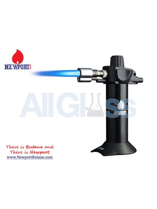 "Newport Zero 5.5"" Mini Torch - Black , Smoking Accessory - Newport Butane, AllGlass.com"